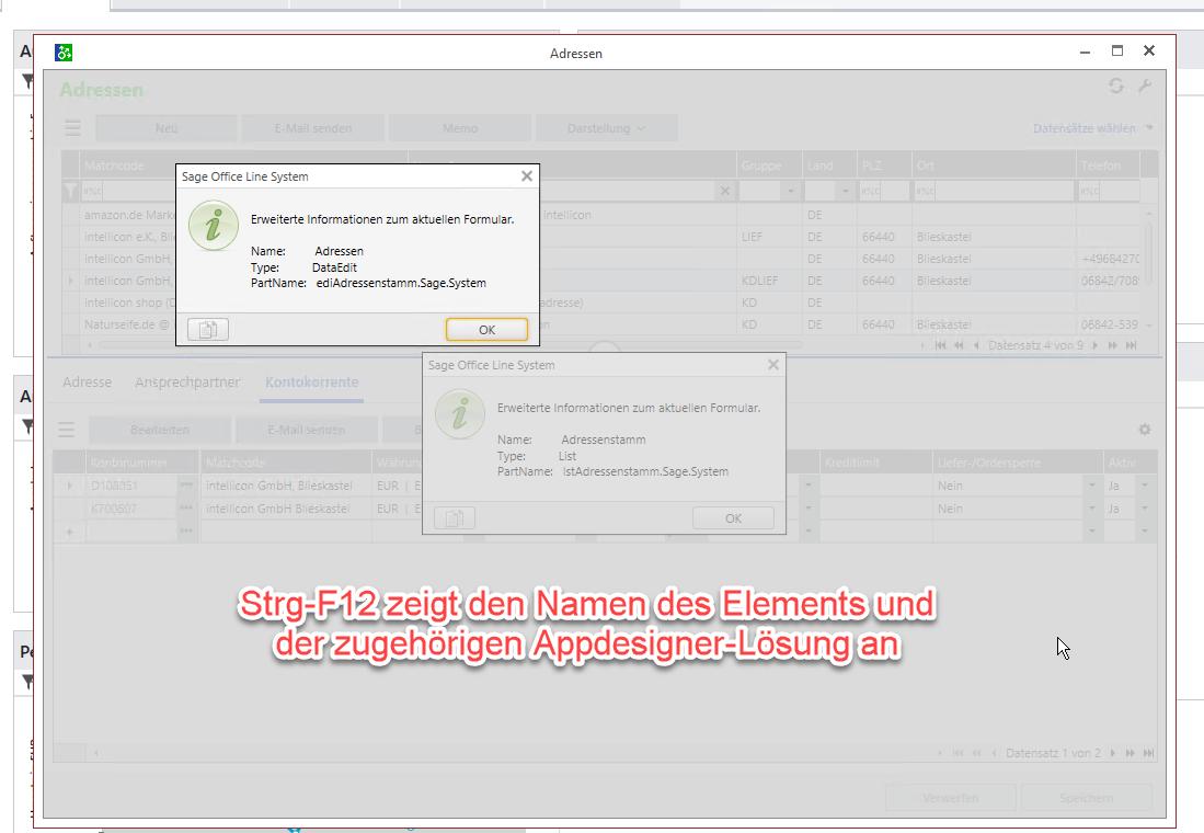 Read more about the article Sage 100 Appdesigner: Namen eines Elements anzeigen